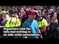 Counterprotesters Flood 'free Speech' Rally In Boston
