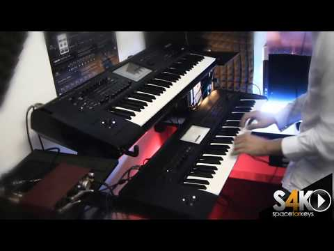 Korg Krome Demo part 1 vs kronos + Motif xf6 performed by S4K ( Space4Keys Keyboard Solo )