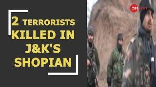 Breaking News: 2 terrorists have been gunned down by security forces in J&K's Shopian - ZEENEWS