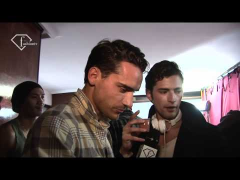 Corneliani - Backstage - Fall 2011 - Milan Men's Fashion Week - fashiontv | FTV.com