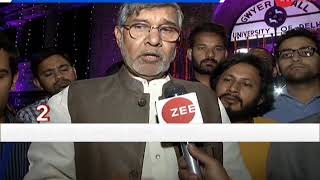 Morning Breaking: Kailash Satyarthi demands strict action against child abusers - ZEENEWS
