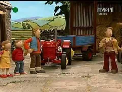 Czerwony traktorek   Tajemna kryjówka...