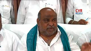 Telangana Forest Minister Jogu Ramanna Slams Congress Leader Uttam Kumar Reddy | CVR News - CVRNEWSOFFICIAL