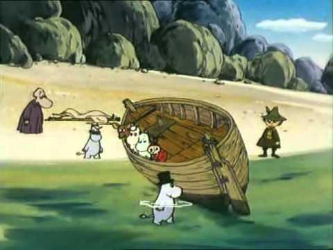 Muminki   03   Wrak łodzi