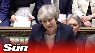Theresa May's final speech to Parliament moments before Brexit deal vote - THESUNNEWSPAPER