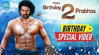 Rebel Star Prabhas Birthday Special Video From iDream Media | Something Special Video #15 - IDREAMMOVIES
