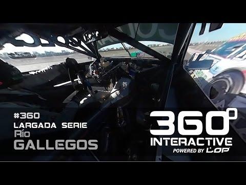 El Rayo en 360º en Río Gallegos
