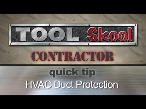 HVAC Duct Filter - Contractor Quick Tip