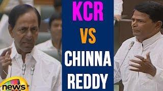KCR vs Chinna Reddy On Farmer Loans | Telangana Assembly | Mango News - MANGONEWS