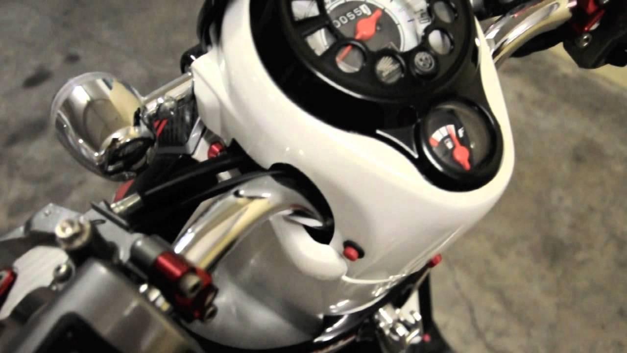 Honda scoopy modifikasi ala custom world