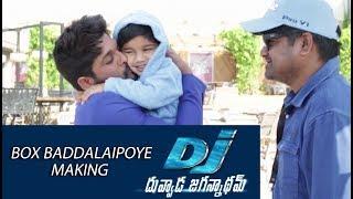 Box Baddalaipoye Song Making - DJ Movie Making   Allu Arjun, Pooja Hegde - DILRAJU