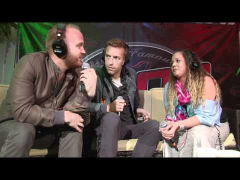 Coldplay KROQ Weenie Roast 2012 Interview