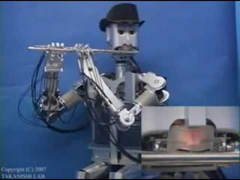 Waseda Flutist Robot (Robot Flautista)