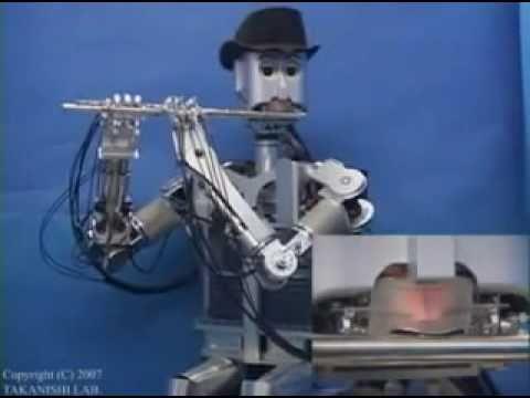 Waseda Flutist Robot (Robot Flautista)