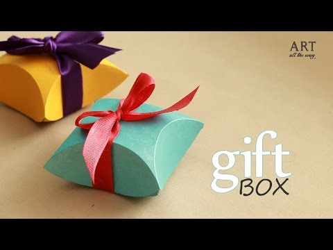 How to make : Gift Box - Easy DIY arts and crafts