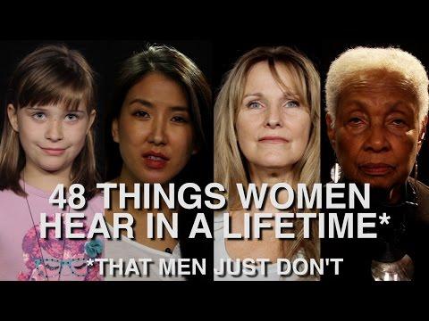 48 zdań, które każda kobieta usłyszy w życiu