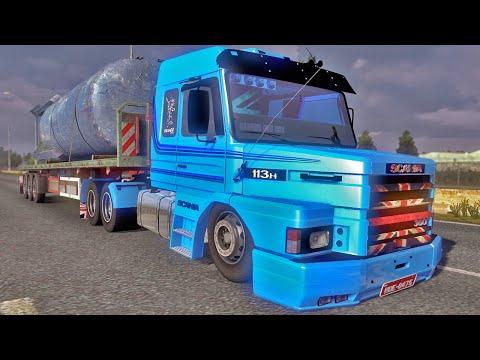 Scania 113H Rebaixada - Euro Truck Simulator 2