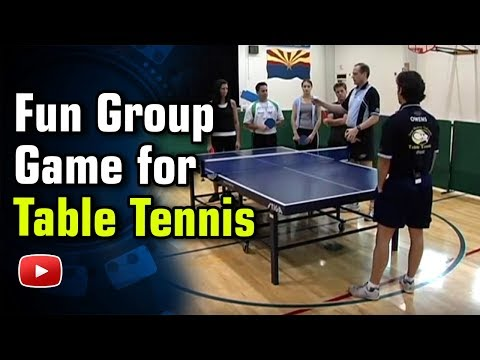 Table Tennis - A Fun Game for A Group of Students