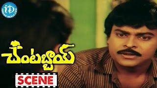 Chantabbai Movie Scenes - Suthi Veerabhadra Rao Comedy || Chiranjeevi || Suhasini - IDREAMMOVIES