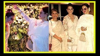 Rekha At Manisha Koirala Birthday Party | Rekha Puts Garland Over Manisha Koirala |Tollywood Updates - RAJSHRITELUGU