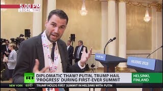 Putin-Trump summit: Backstage - RUSSIATODAY