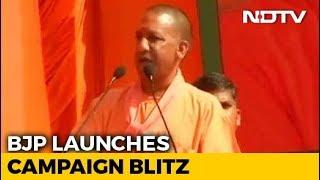 """Masood Azhar's Kin"": Yogi Adityanath's Dig at UP Congress Candidate - NDTV"