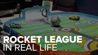 Rocket League with Hot Wheels first look - CNETTV
