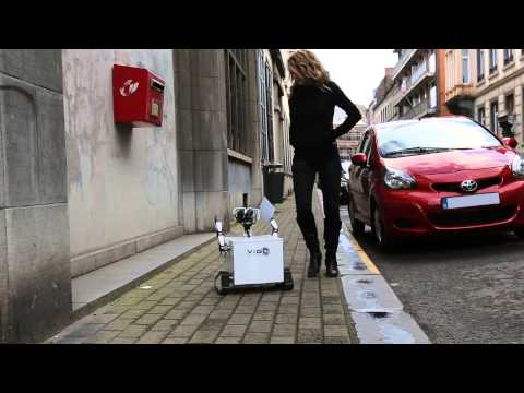 Vig-E le petit robot promotionnel craquant - Campagne marketing 2013