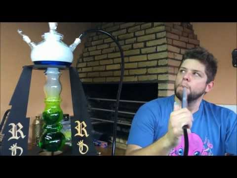 Unboxing e Review - Roi Royalty Hookah Glass