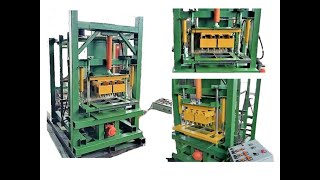 Станки,оборудование по производству кирпича