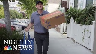 Walmart To Offer Same-Day Grocery Delivery In 100 Markets | NBC Nightly News - NBCNEWS