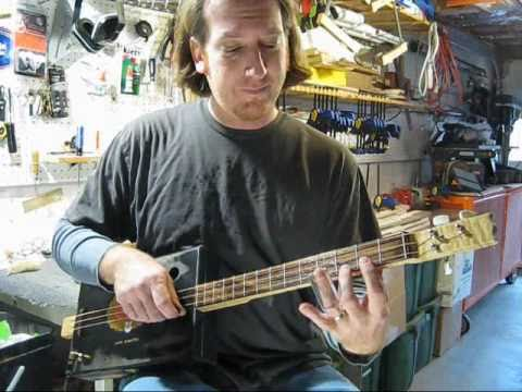 Cigar Box Guitar How to Play Slide
