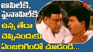 ఆఫిల్ కి ఫైనాపిల్ కి ఉన్న తేడా చెప్పినందుకు ఏంజరిగిందో చూడండి    | Telugu Movie Comedy | NavvulaTV - NAVVULATV