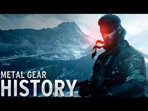 History of - Metal Gear (1987-2013)