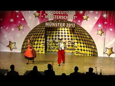 Verena Rochow - Klohn & Christoph Klohn - Norddeutsche Meisterschaft 2013