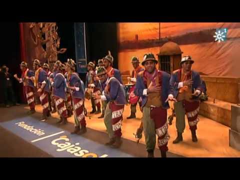 Sesión de Semifinales, la agrupación La canción de Cádiz actúa hoy en la modalidad de Comparsas.
