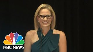 Kyrsten Sinema Celebrates Arizona Senate Win | NBC News - NBCNEWS
