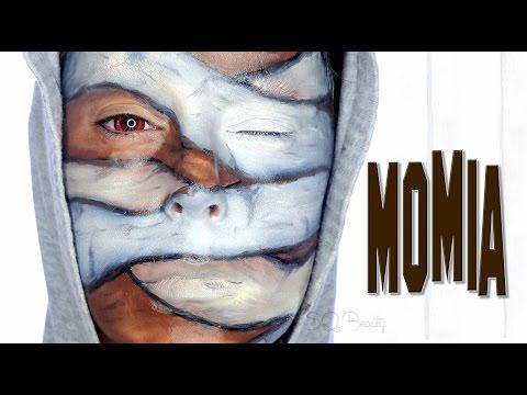 Tutorial Maquillaje Halloween Momia colaboración con GotyMakeup3 | Silvia Quiros