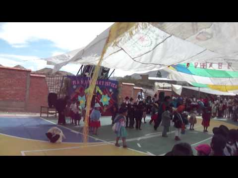 Inauguracion del nuevo colegio de vitichi potosi bolivia Part1
