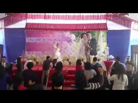 Đám cưới vui nhộm nhất mà mình được xem =))