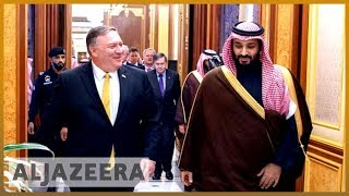🇺🇸 🇸🇦 Will Pompeo's visit press Saudi Arabia on human rights? l Al Jazeera English - ALJAZEERAENGLISH