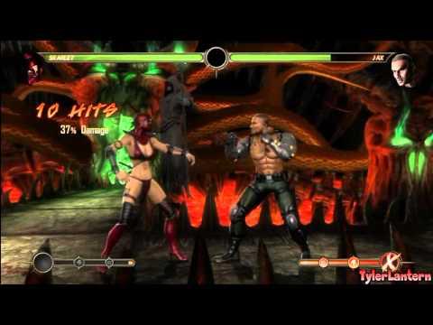 MK9 - Skarlet Combo Compilation - Mortal Kombat 9 (2011)