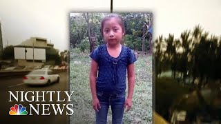 7-Year-Old Guatemalan Girl Dies In Border Patrol Custody | NBC Nightly News - NBCNEWS