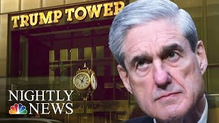Robert Mueller Subpoenas President Donald Trump Organization For Russia Records | NBC Nightly News - NBCNEWS