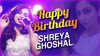 Happy Birthday  Shreya Goshal | Unseen Images Of Indian Singer Shreya Goshal - RAJSHRITELUGU