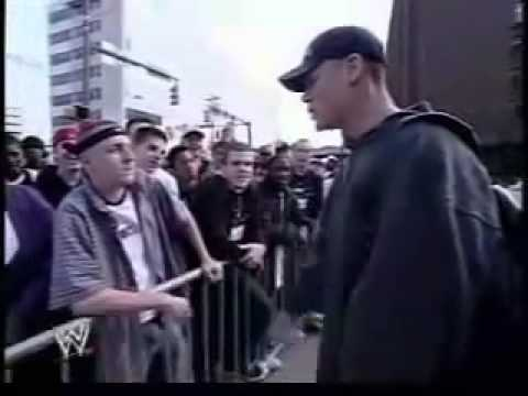 WWE Champion John Cena Win Rap Battles a fan