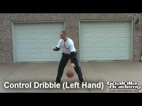 Basketball Control Dribble