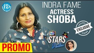 Actress Sobha Indra Exclusive Interview - Promo || Soap Stars With Anitha #28 - IDREAMMOVIES