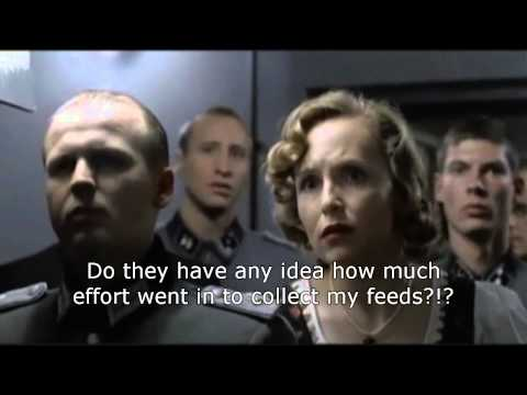 Hitler finds out Google Reader is shutting down