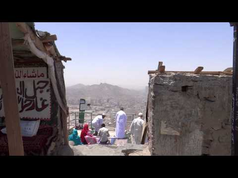 Near Ghar-e-Hira jabl-e-noor on the mountain of Makkah 8 April 2013 in Saudi Arabia